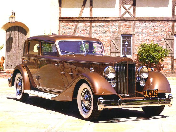 1933 Packard Twelve 3182 Deitrich V Windshield Special