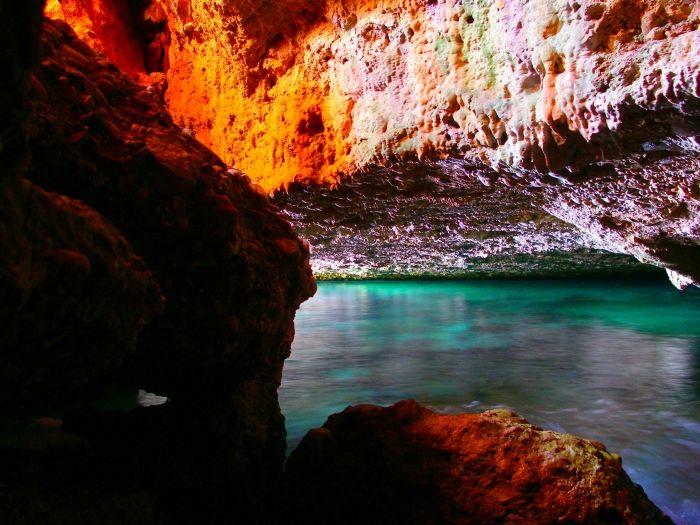 Cave of Bekiris in Spetses island