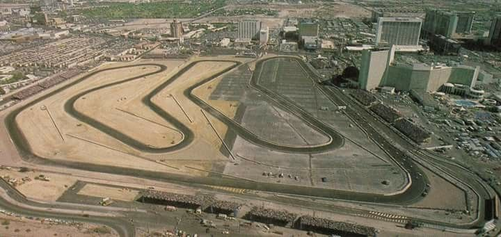 1981 Caesars Palace Grand Prix Race Track Present Location Of