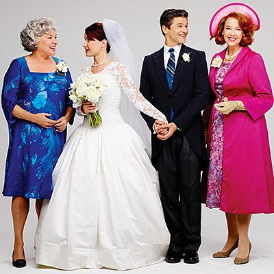 It Shoulda Been You Stars Sierra Boggess & David Burtka Say 'I Do' in Gorgeous Vanity Fair Photo Spread   Broadway Buzz   Broadway.com