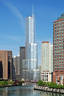 $32 Million Chicago Trump Tower Penthouse - Chicago's most expensive condo listing in history. #luxuryhomes #richandfamous