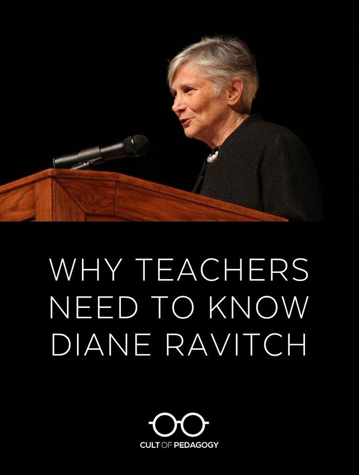 Although lots of teachers are already out there, debating policy issues, more informed voices are needed. Ravitch's book, Reign of Error, will get you up to speed. | Cult of Pedagogy