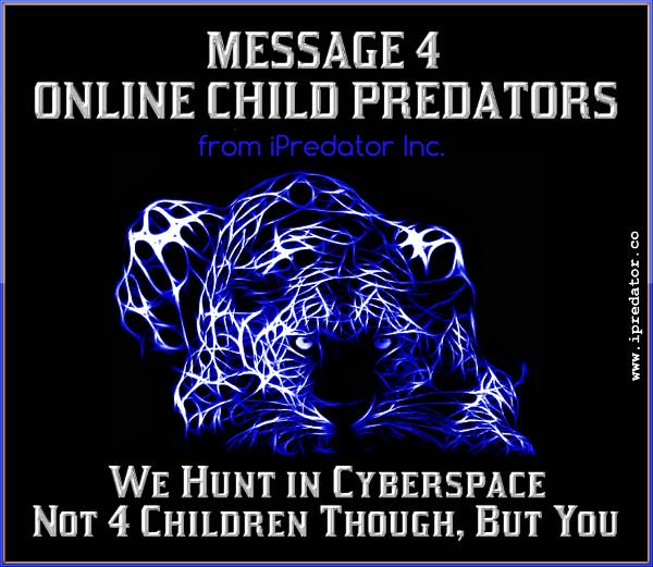 online sexual predators The state's cyber crimes unit observed national child abuse prevention month after a year that landed 36 suspected online sex predators and child pornographers in jail.