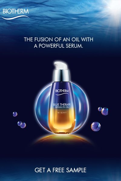 Free sample of Biotherm Serum oil  Get it here   http://aulirium.com/beauty/biotherm/free-sample-of-biotherm-serum-in-oil/