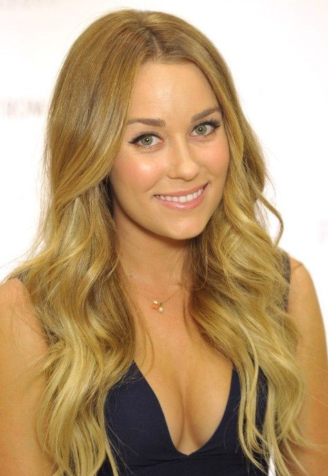 Lauren Conrad loose curls Hairstyle