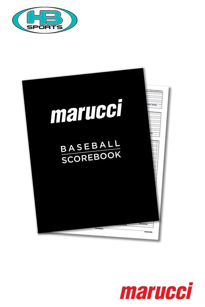MARUCCI BASEBALL AND SOFTBALL SCOREBOOK