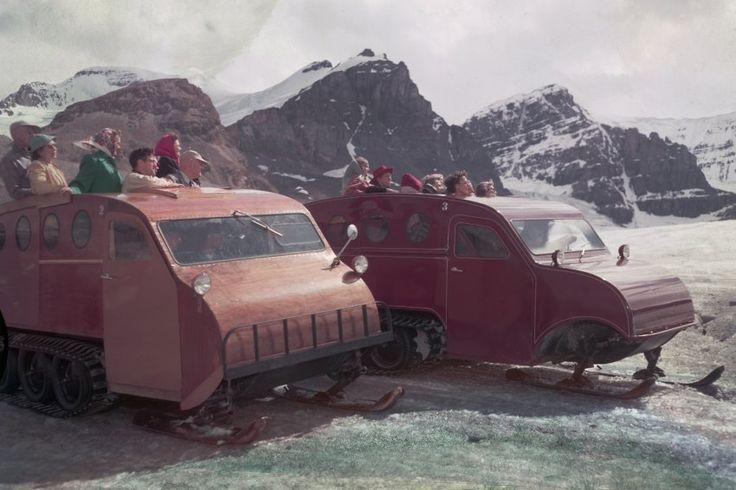 1952:  Auf Schneemobile spezialisiert hatte sich der kanadische Erfinder,...