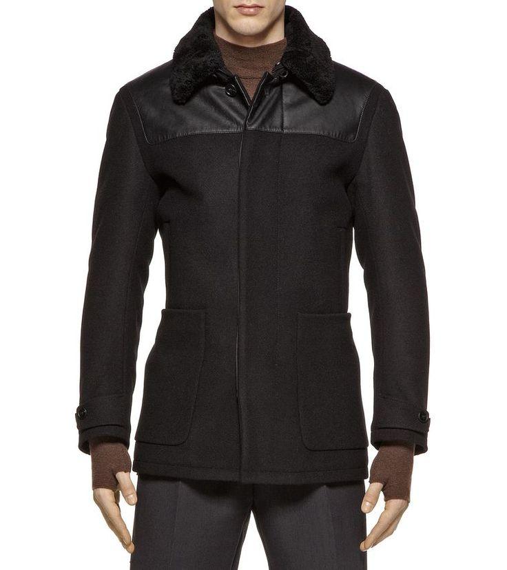 ZZEGNA OUTERWEAR Fabric jacket Men