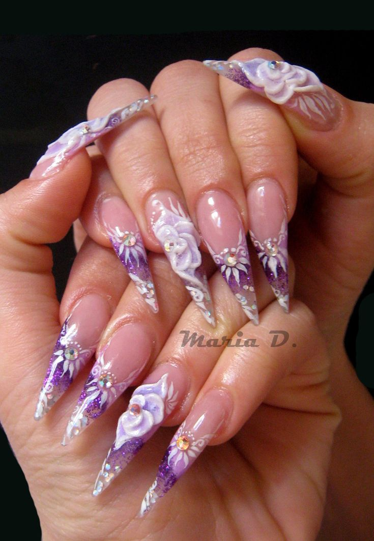 17 Best Images About Over The Top Nails On Pinterest