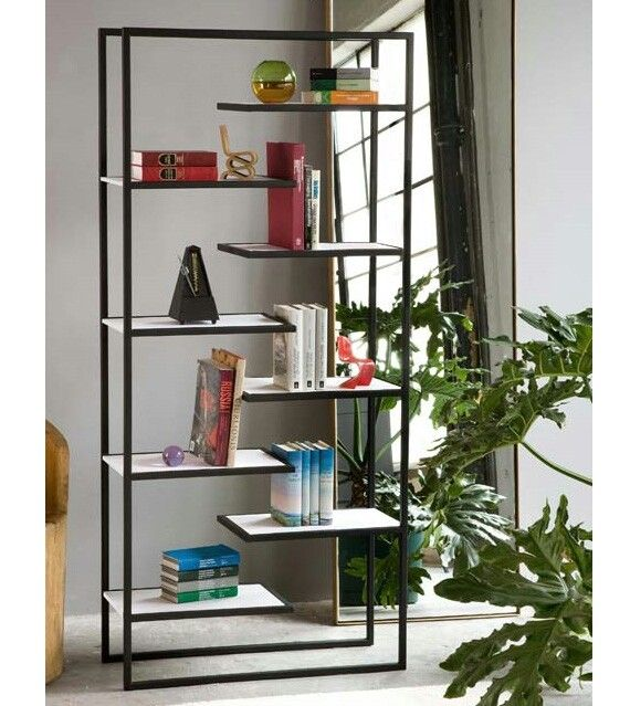 Contemporary And Functional Scala Bookcase Design For Home Interior  Decorative By Faktura Design