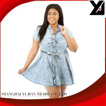 New 2015 Summer Style Sexy Fashion Novelty Skater Denim Plus Size Dress LC22387 XXL Vestidos Verano Mujer Best Buy follow this link http://shopingayo.space