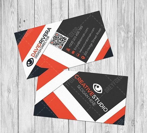 Design Einer Visitenkarte Gratis Vorlage Auch Visitenkarten