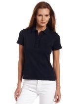 Jones New York Women's Short Sleeve Polo Shirt With Placket
