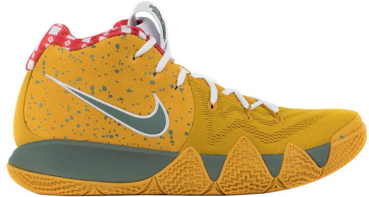 Nike Kyrie 4 Concepts Yellow Lobster