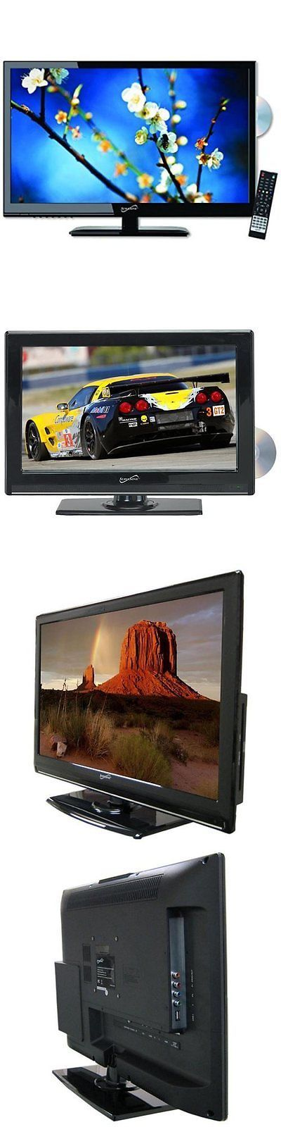 Televisions: Supersonic 24-Inch 1080P Led Widescreen Ac/Dc Hdtv W/ Built-In Dvd Player BUY IT NOW ONLY: $174.36