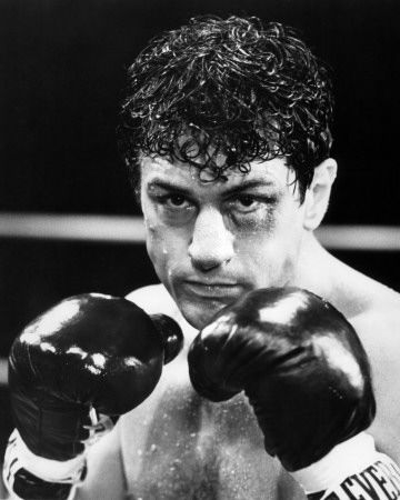 """Robert Deniro. You thought that his tough guy stuff in Goodfellas was good? He became legend after performances in Raging Bull, Taxi Driver and Mean Streets. Watching him, you shudder and think, """"Can he really be that good?"""""""