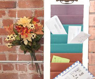 DIY Window Shutter Mail Sorter