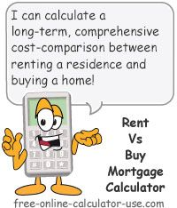 Calculate and compare the cost of renting to the cost of buying and owning a house, including the hidden ownership costs sellers don't warn you about.