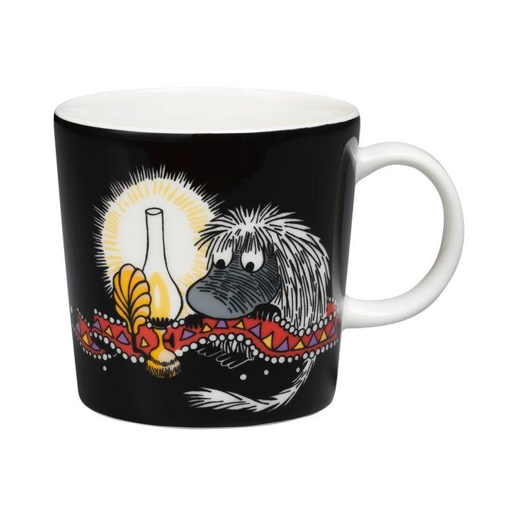 Love this one!  Arabia Moomin Mug: Ancestor