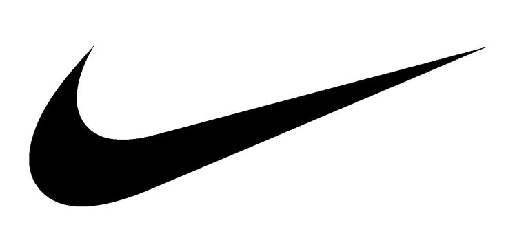 The swoosh symbol is very simple and easy to identify.