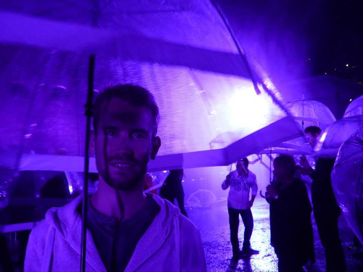 Tom at the White Night in Melbourne