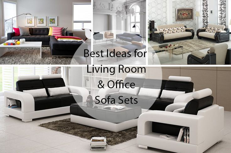 Redesign your living room this Sunday with these exclusive sofa set designs. Relax and enjoy on these comfortable sofa structures. #SundayMantra