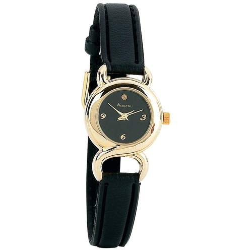 New Navarre Ladies-Womens Quartz Watch - with diamond at 12 o'clock $16.99 http://cgi.ebay.com/ws/eBayISAPI.dll?ViewItem=250898377994=store visit and like us on facebook here https://www.facebook.com/pages/DDs-Gift-Shop/113955198649056?fref=ts