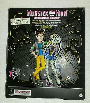 MONSTER HIGH JACKSON JEKYLL AND FRANKIE STEIN DOLLS NEW FREE SHIPPING USA PR