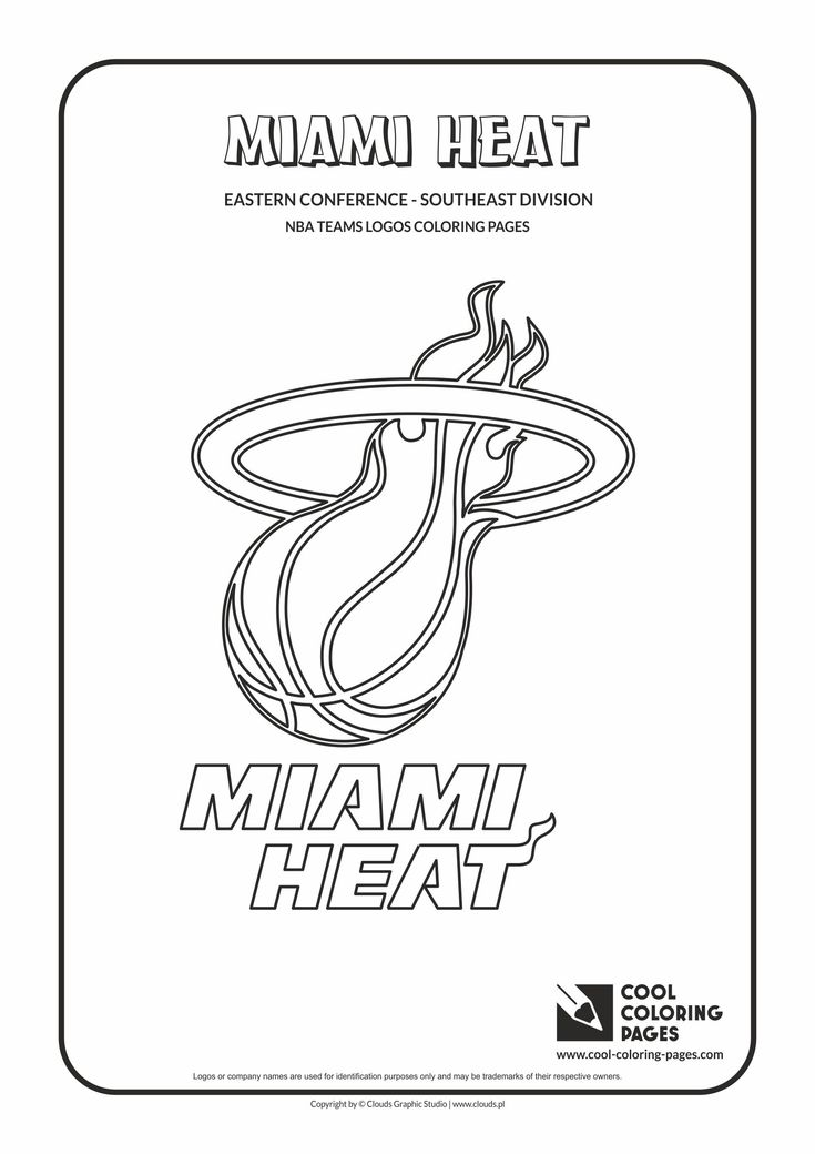 32 best NBA Teams Logos Coloring Pages images on Pinterest | Team ...