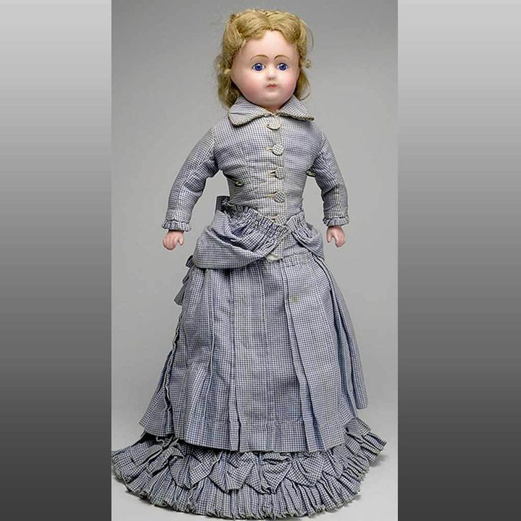 Fabulous Vintage C. 1880 Wax Doll with 2 Authentic Outfits