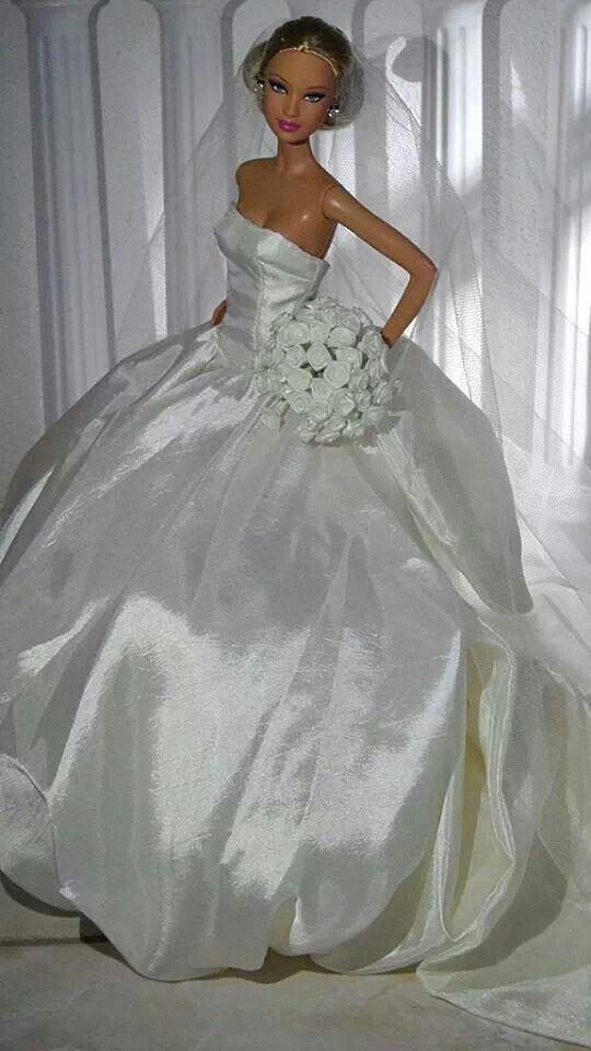 Beautiful Bride, Barbie!