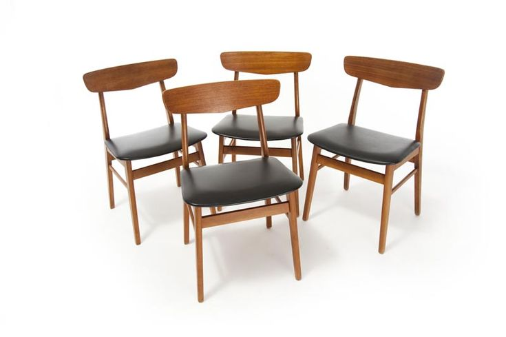 mid century modern danish dining chairs new stick just arrived www