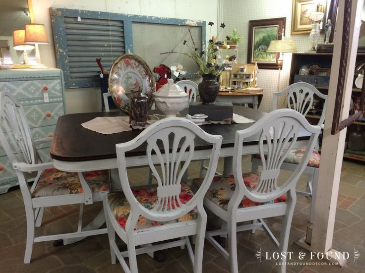 Duncan Phyfe Table U0026 Chairs. #dining. See More. Chalk Paint On The Duncan  Phyffe Style Could I Do It? Not On Gu0027