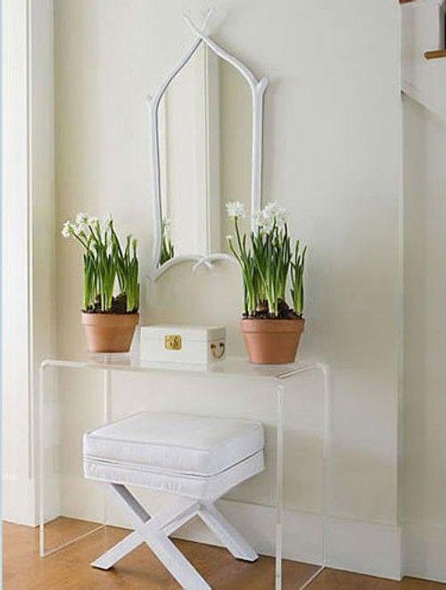 Recibidor espacios peque os muebles para un recibidor - Decoracion para recibidores ...