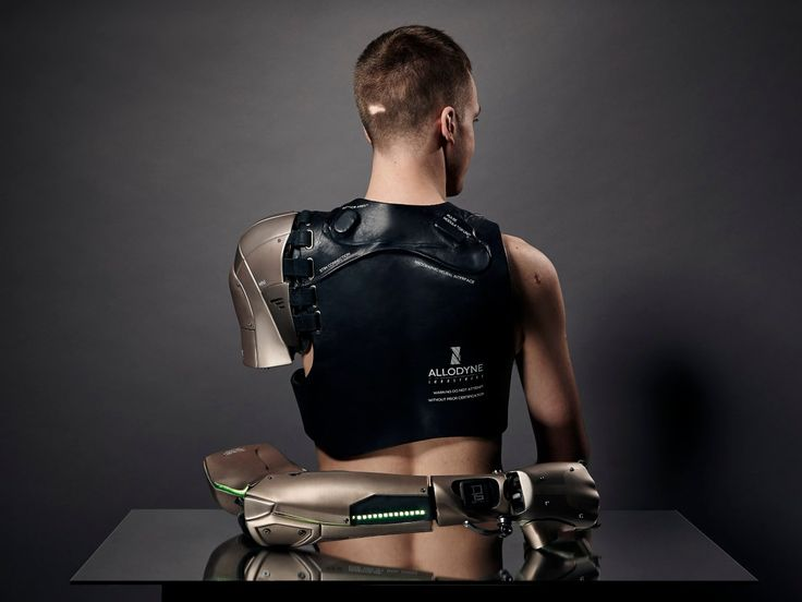 """De Oliveira Barata said her goal is """"to inspire people to think differently about prosthetics, the body, and its evolution from an artistic perspective."""""""