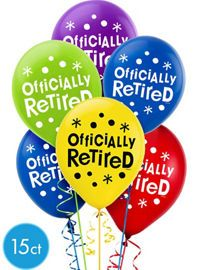 Happy Retirement Party Supplies - Retirement Party Ideas & Decorations - Party City
