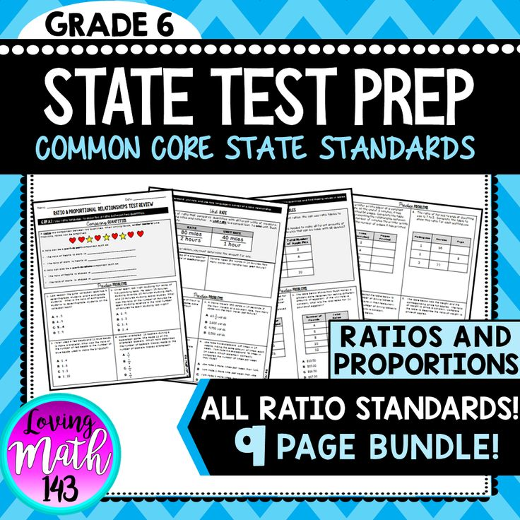 State Test Prep Ratios & Proportions BUNDLE! in 2020