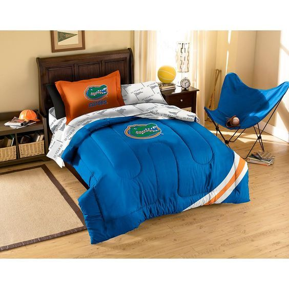 http://www.2uidea.com/category/Impressions-Bed-In-A-Bag/ http://www.modelhomekitchens.com/category/Impressions-Bed-In-A-Bag/ www.home2kitchen…. Florida Gators NCAA Bed in a Bag (Contrast Series)(Twin)