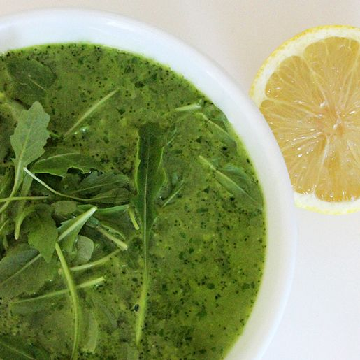 Gwyneth's GOOP Detox: Broccoli and Arugula Soup-Visit our website at http://www.tryrockfitness.com for a FREE TRIAL PASS