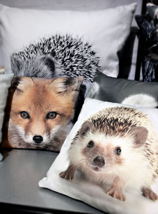 Gorgeous.  I love the hedgehog pillow.  By Nord.