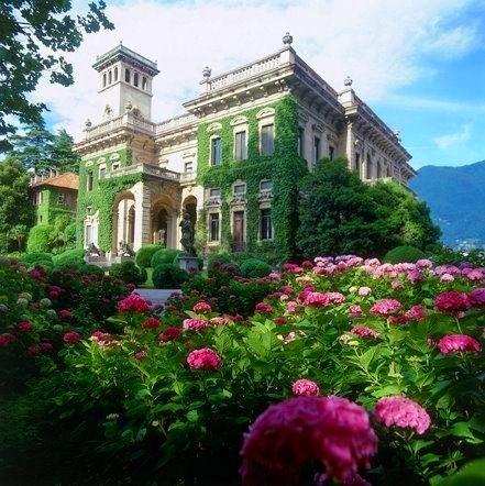 The Villa Vacation home of the Royal Family Lake Como