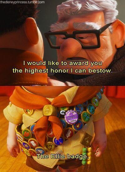 MickeyMeCrazy Disney Up Quote