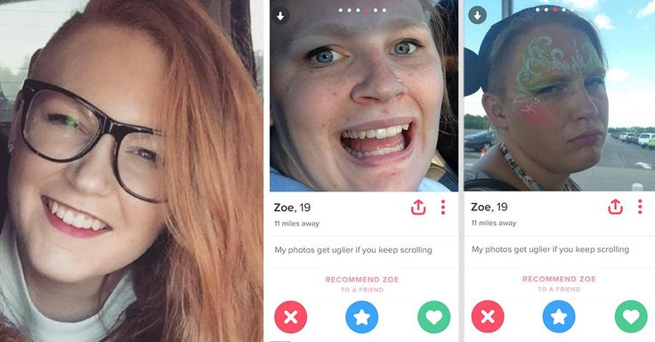 Esta usuaria de 19 años de Tinder comparte imágenes en donde se ve demasiado graciosa, demostrando que no hay nada más atractivo que un buen sentido del humor