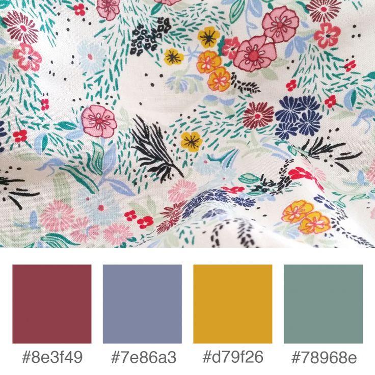 Colours Inspiration - Spring | Purple | Yellow | Green  | Varró Joanna Design | Corporate Identity | Branding | Graphic Design | Inspiration | Graphic Designer