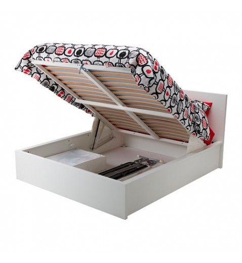 IKEA MALM Ottoman bed 150x220CM white