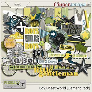Boys Meet World [Element Pack]