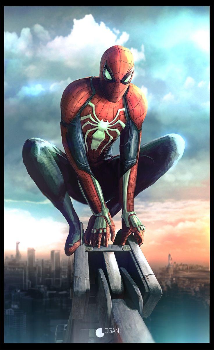 #Spiderman #Fan #Art. (Spider-Man) By: Charles Logan. (THE * 3 * STÅR * ÅWARD OF: AW YEAH, IT'S MAJOR ÅWESOMENESS!!!™)[THANK Ü 4 PINNING!!!<·><]<©>ÅÅÅ+(OB4E)     https://s-media-cache-ak0.pinimg.com/564x/07/ea/77/07ea778a6c643048b93e9e3a55f0a499.jpg
