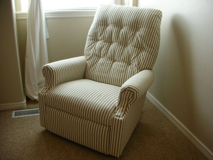 DIY re-upholster and old lazy-boy recliner & Best 25+ Recliner cover ideas on Pinterest | DIY furniture ... islam-shia.org