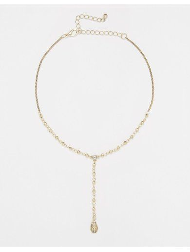 ASOS Mini Travellers Choker Necklace - Gold