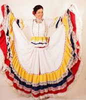 Como hacer una falda doble circular usada en vestidos costumbristas, bailes como la cumbia, bailes mexicanos, como hacer el molde de la falda doble circular, como cortar la falda.